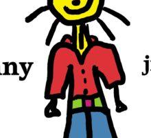 Sonny Jim Sticker