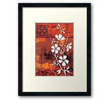 red 01 Framed Print