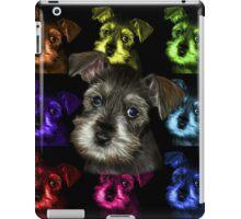 schnauzer dog art - 7206 iPad Case/Skin