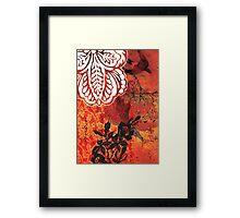 red 02 Framed Print