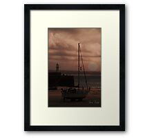 Evening Tide Framed Print