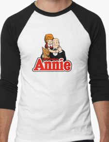 Little Orphan Annie Men's Baseball ¾ T-Shirt