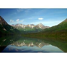 Alaskan Lake View Photographic Print