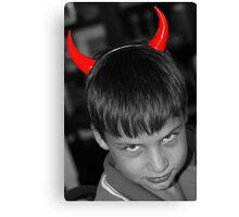 I always said he was a devil   :) Canvas Print