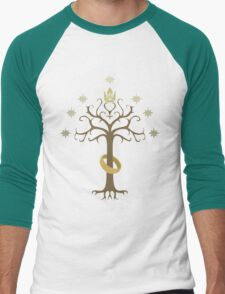 Lord of the Rings Inspired Tree Men's Baseball ¾ T-Shirt