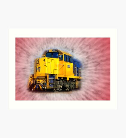 """The Arrival of The Gospel Train"" Art Print"