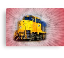 """""""The Arrival of The Gospel Train"""" Canvas Print"""