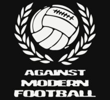 Against modern football by holiganism