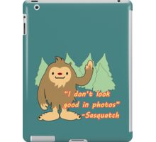 Sasquatch photo. iPad Case/Skin