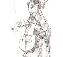 mile to go - cello by erincox