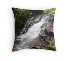 Tranquil Flow Throw Pillow