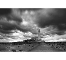 Stormy Skies Photographic Print
