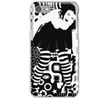 Goth woman iPhone Case/Skin