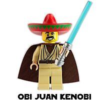 Obi Juan Kenobi Photographic Print