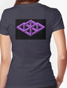 Isometric Impossibilities  Womens Fitted T-Shirt