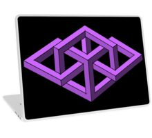 Isometric Impossibilities  Laptop Skin