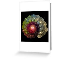 Fractal Art - Fractal Coral Greeting Card