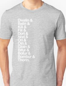 The Hobbit Dwarves T-Shirt