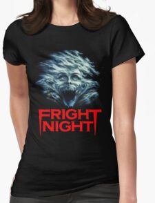 Fright Night Womens Fitted T-Shirt