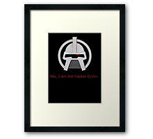 Haxor Cylon Framed Print