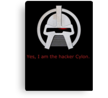 Haxor Cylon Canvas Print