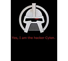 Haxor Cylon Photographic Print