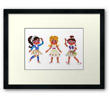 ballet for three Framed Print