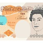 Ten Pound Note by Richard Edwards