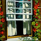 Window at Upper Canada Village by Joyce