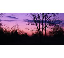 Sun rise in Gods glory Photographic Print