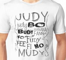 JUDY - THE name game Remake Black version Unisex T-Shirt