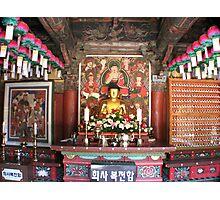 The Temple Budda Photographic Print