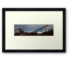0614 - HDR Panorama - Mineworks 2 Framed Print
