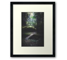 The road back is always the hardest Framed Print