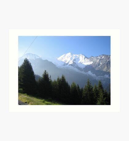 Mont Blanc Art Print