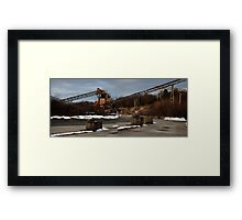 0616 - HDR Panorama - Mineworks 4 Framed Print