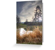 Southdown Ponds Greeting Card