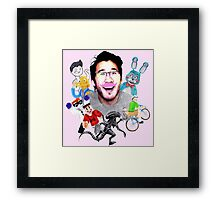Markiplier 2014 Highlights Framed Print