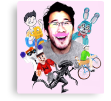 Markiplier 2014 Highlights Canvas Print