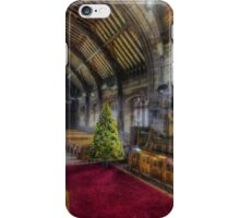 Christmas Church Service iPhone Case/Skin