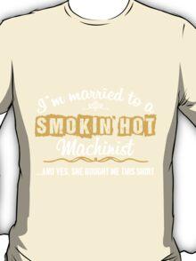 Funny Machinist T-shirt T-Shirt