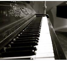 Liberace Piano Photographic Print