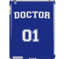Doctor # 01 iPad Case/Skin