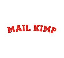 Mail Kimp - On White by jamescroft