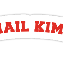 Mail Kimp - On White Sticker