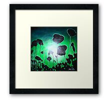 Poppies of Peace Framed Print