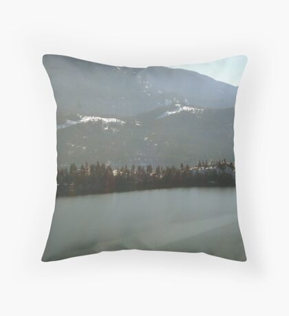 Kalamalka Lake Throw Pillow