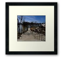0710 - HDR Panorama - Park Flood 5 Framed Print