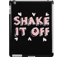 Shake it off (black) iPad Case/Skin