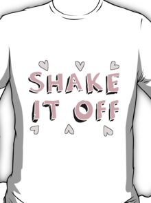 Shake it off (black) T-Shirt